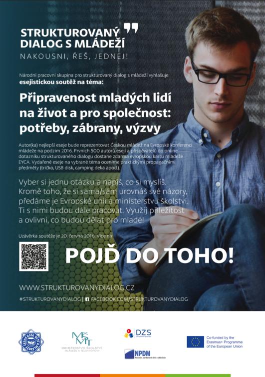 Plakát esejistická soutěž