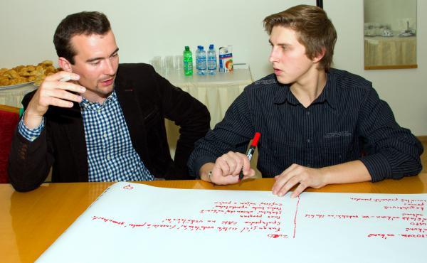 Workshop přístup mladých k právům, strukturovaný dialog s mládeží