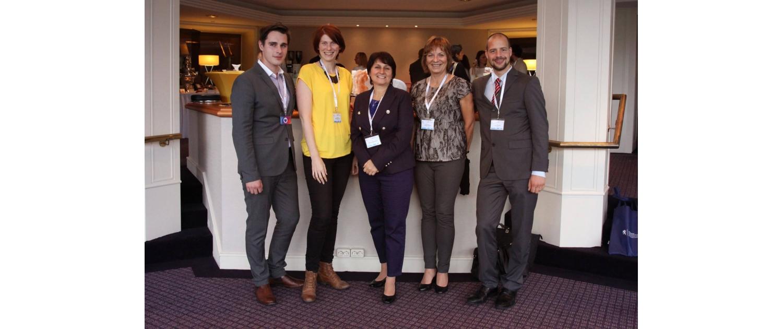 Česká delegace na konferenci.