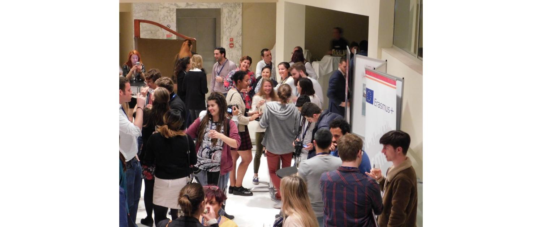 Party na Evropské konferenci mládeže, Malta 2017